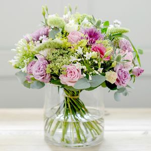 Dancing Cloud Luxury Rose And Flower Bouquet - shop by category