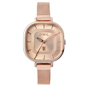 Lincoln Leather Strap Watch