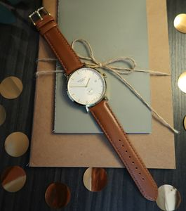 'Richmond' Mocha Brown, White And Gold Watch - watches