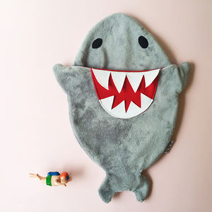 New! Biscuits The Shark Hot Water Bottle - hot water bottles & covers