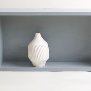 Fat Handmade Porcelain Bottle - dining room