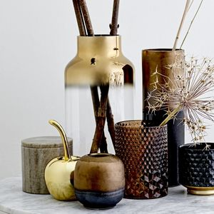 Gold And Glass Vase - view all new