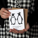Penguins Personalised Card