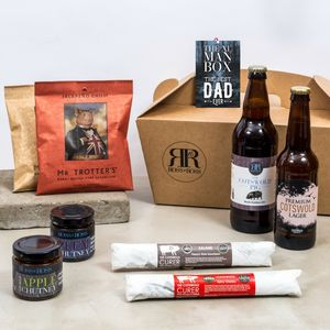 'Best Dad Ever' Xl Man Box Limited Edition - food hampers
