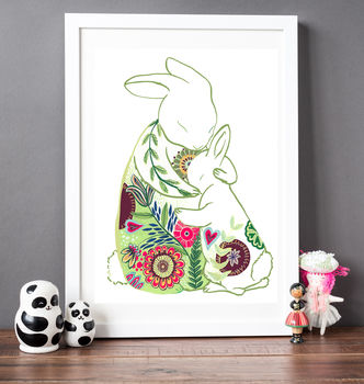 Mummy Hugs Print Gift For New Mum