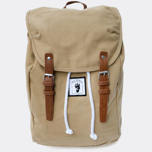 'High Seas' Tan Rucksack - men's accessories