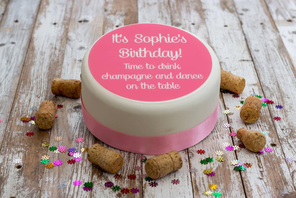 Birthday Cake Decoration By Just Bake
