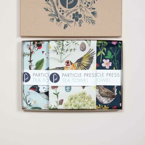 Tea Towel And Recipe Cards Gift Box