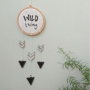 'Wild Thing' Dreamcatcher Wallhanging - children's room
