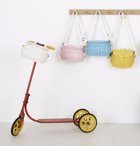 Mini Chari Bag, Scooter And Bicycle Basket - gifts for children