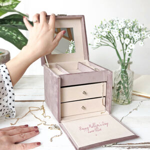 Mother's Day Message Jewellery Box