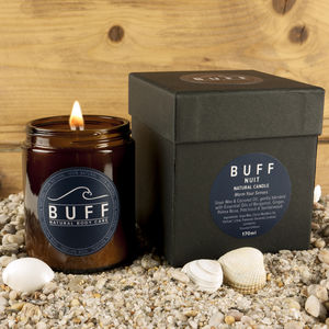 Buff Nuit Boxed Natural Candle