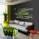 Nothing Is Impossible Office Wall Sticker Art