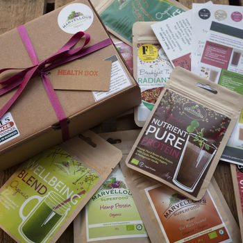 Health Box: Energise And Detox Superfood Gift Hamper