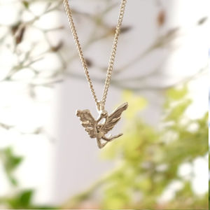 Silver Integrity Fairy Necklace
