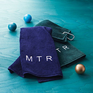 Personalised Golf Towel - christmas catalogue
