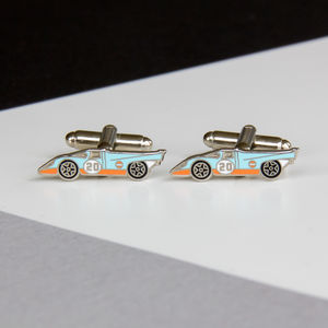 Porsche Le Mans 917 Cufflinks - men's accessories