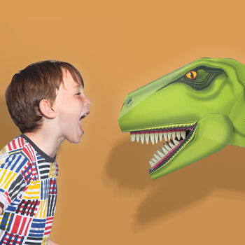 Build A T Rex Dinosaur Head
