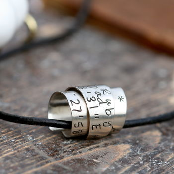 Personalised Secret Scroll Mens Chain