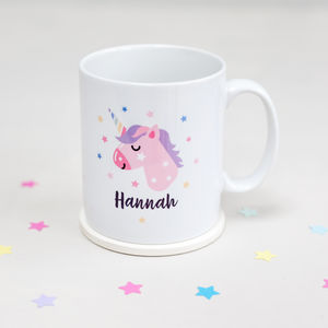 Unicorn Personalised Mug - unicorns