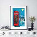 Telephone Box Print