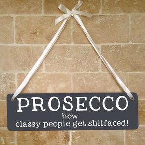Prosecco Sign - home accessories