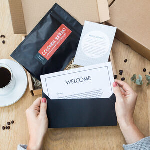Coffee Lover Monthly Subscription Gift
