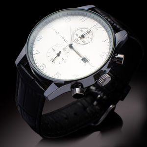 David Louis B2 Chronograph Personalised Watch - new gifts for him