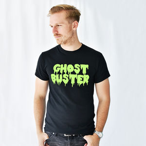 'Ghost Buster' Halloween Men's T Shirt - fancy dress