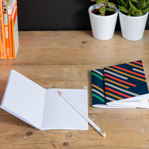 Stripes | Pocket Notebooks X3