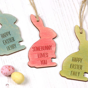 Personalised Easter Keepsake Decoration - for babies & children