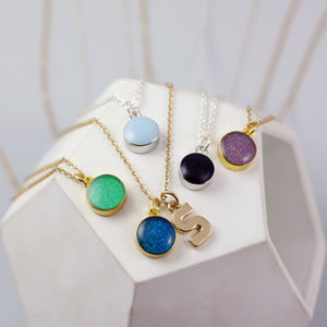 Mini Enamel Dot Necklace - gifts for teenagers