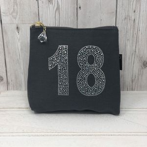 18th Birthday Personalised Sparkle Bag