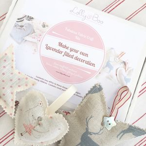 Fabulous Fabric Craft Kits Make Your Own Decoration - decoration making kits