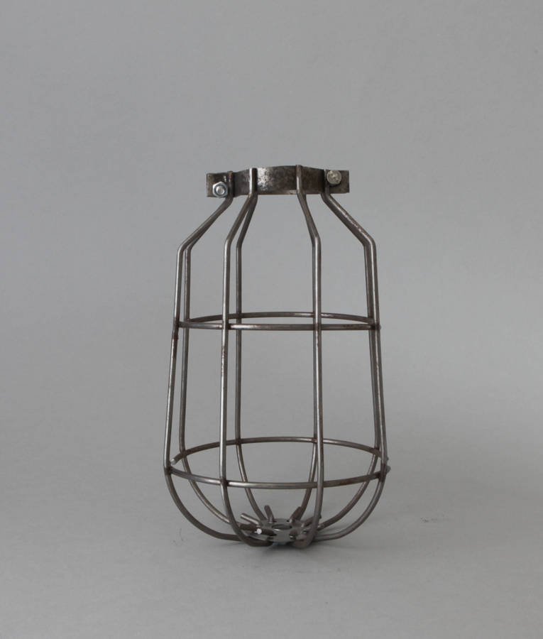 Drop Industrial Ceiling Light Cage Shade By Dowsing