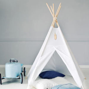 Kids Teepee White - the monochrome edit