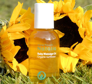 Baby Massage Oil 100% Organic For Sensitive Skin - massage & aromatherapy