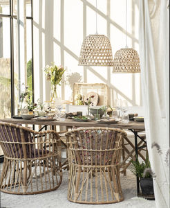 Bamboo Lattice Shade