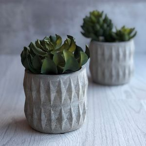 Geometric Succulent Pot
