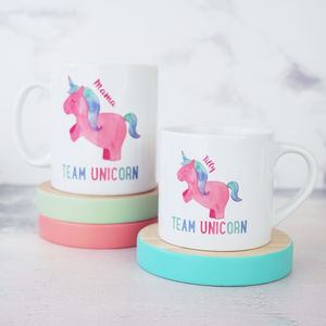 Personalised Mummy And Me Unicorn Mugs - what's new