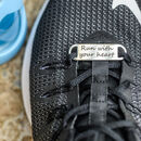 Personalised Motivational Sport Shoe Tag