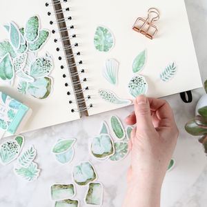 Botanical Sticker Pack - stylish stationery ideas