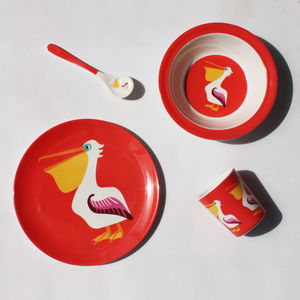 Pelican Melamine Tableware - dining room