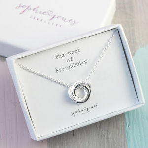 Friendship Knot Necklace - necklaces & pendants