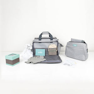 Luxury Unisex New Baby Hamper Bag - gift sets