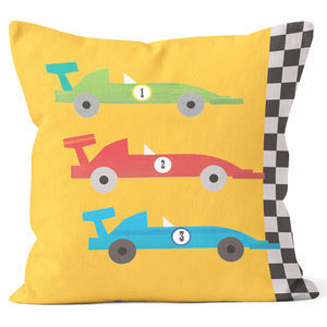 Racing Car Cushion
