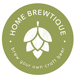 Home Brewtique Logo: Sophisticated Beer, Simply Crafted