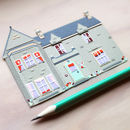 Personalised Miniature Paper House Portrait