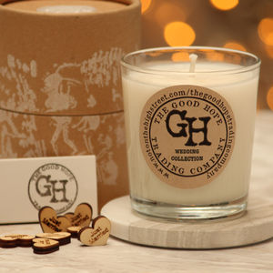 Organic Soy Wax Candle - candles & home fragrance