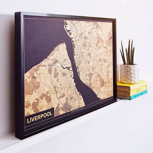 This Is Home Risograph Map - personalised